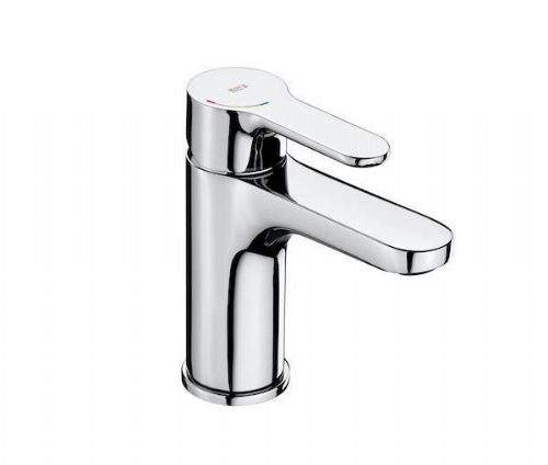 Roca L20 Cold Start Basin Mixer Tap - Chrome